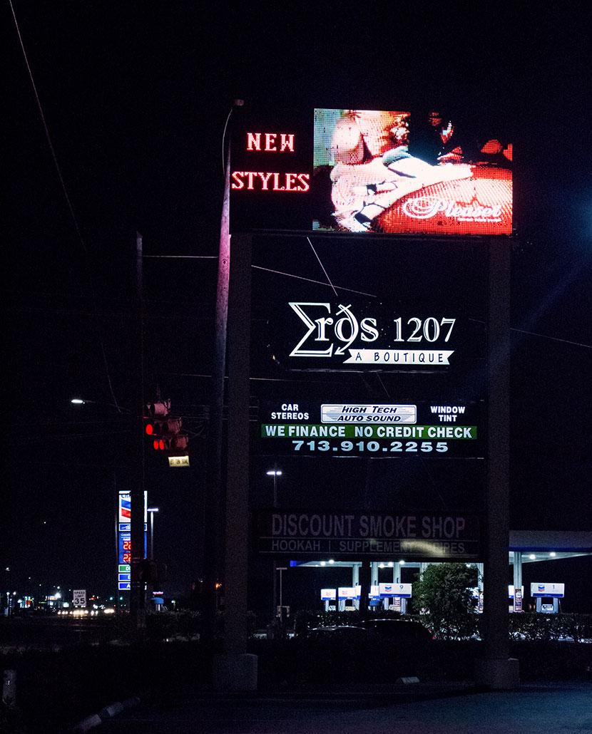 Eros1207 Exterior Sign