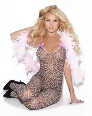 Leopard Bodystocking - Queen