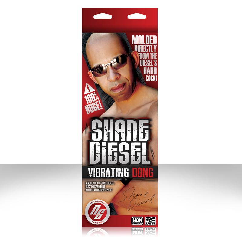 Shane diesel molded dildo