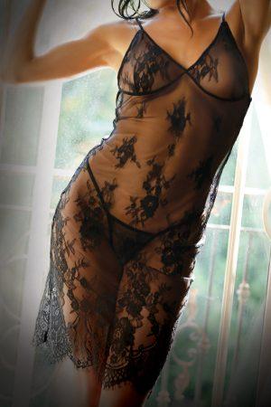 Forbidden Love Lace Slip Dress