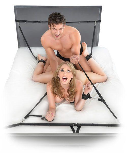 Fetish Fantasy Ultimate Bed Restraint System
